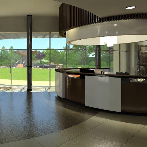 Hino Medical Center Lobby